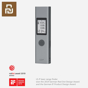 Image 1 - DUKA LS P Rechargeable Intelligent Digital Laser Rangefinder For Hunting Golf Laser Range finder 40m measurement tool