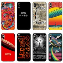 Led Zeppelin rock band Phone Case Back Cover For iPhone 11 Pro XS Max XR X 8 7 6 6S Plus 5 5S SE 4s 4 iPod Touch(China)