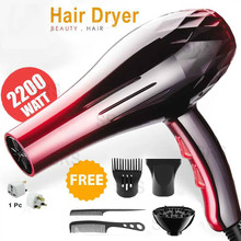 With EU Plug 2200W Hot And Cold Wind Hair Dryer Blow dryer Hairdryer Styling Tools For Salons and household use 2200w power hair dryer professional salon blow dryer 2200w hairdryer styling tools salon household use hairdresser blower hair