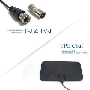 Image 4 - Digital TV Antenna Indoor HDTV Antena DTV Amplificatore Del Segnale Del Ripetitore 1080P TV Satellitare Antenna 50 miglia Z231 BTVTVJ210120