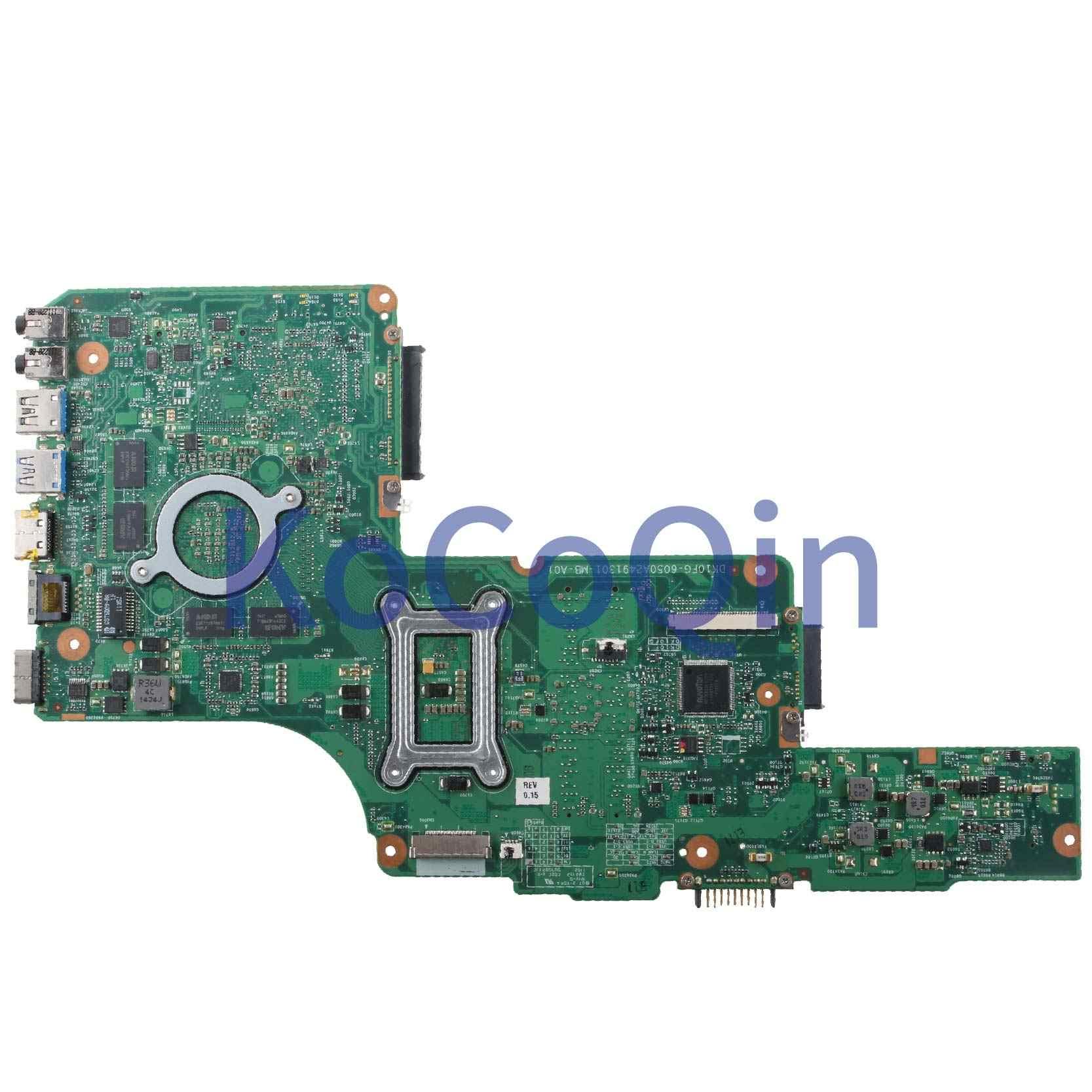 KoCoQin محمول لوحة أم لأجهزة توشيبا الأقمار الصناعية C850 C855 L850 L855 اللوحة 6050A2491301-MB-A01 216-0833000