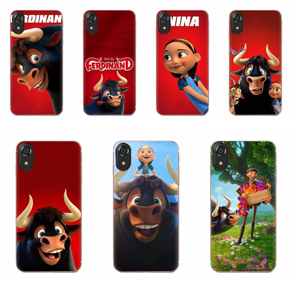 TPU Mobile Phone Case Cover Moive Ferdinand For Galaxy Grand A3 <font><b>A5</b></font> A7 A8 A9 A9S On5 On7 Plus Pro Star 2015 <font><b>2016</b></font> 2017 2018 image