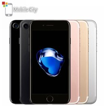 "Original Apple iPhone 7 Quad-Core IOS 4.7 ""Smartphone 2GB RAM 32/128/256GB ROM 12.0MP Fingerprint Entsperrt 4G LTE Handy(China)"