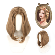Cosplay Wig Blood-Queen Identity-V Mary Madame Straight Women Game Hair-Wig Brown Deficit