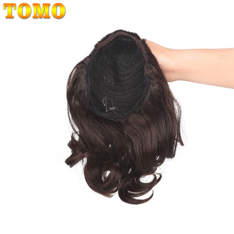 Best DealClip-In Ponytail Hair-Extension Fake-Hair Short Heat-Resistant Natural Synthetic Womenê