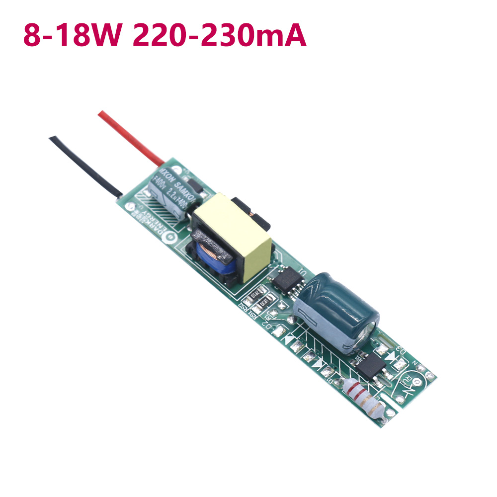 LED Driver 8W-18W For LED Tube T5 T8 AC220V Power Supply Constant Current Voltage Control Lighting Transformers Use 2 Years