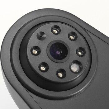Auto CCD Rückfahr Rückansicht Kamera LED Bremslicht Parkplatz Nachtsicht Backup Für Mercedes Benz Sprinter VW Crafter