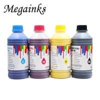 4 cores 1000ml pela tinta vívida do pigmento da garrafa para toda a impressora do grande formato de canon