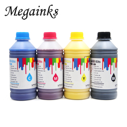 4 kolory 1000ml na butelkę żywy atrament pigmentowy do wszystkich Canon drukarka wielkoformatowa