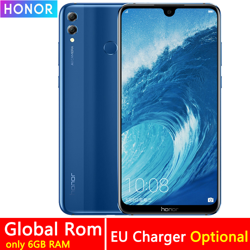 Honor 8X Max 7.12 pouces téléphone portable 4GB RAM 64GB ROM 16MP Octa Core écran empreinte digitale ID 4900mAh batterie Smartphone-in Mobile Téléphones from Téléphones portables et télécommunications on AliExpress - 11.11_Double 11_Singles' Day 1