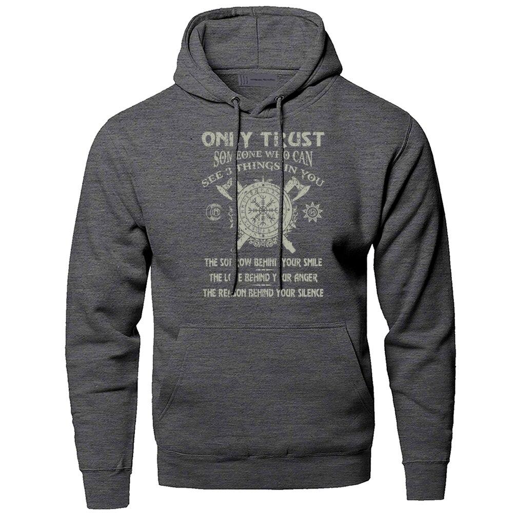 Odin Vikings Hoodies Men Sweatshirts Die In Battle And Go To Valhalla Hooded Sweatshirt Sons Of Anarchy Winter Autumn Sportswear