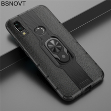 For Xiaomi Redmi 7 Case TPU+PC Finger Holder Phone Cover Mi 9T Note 8 Pro