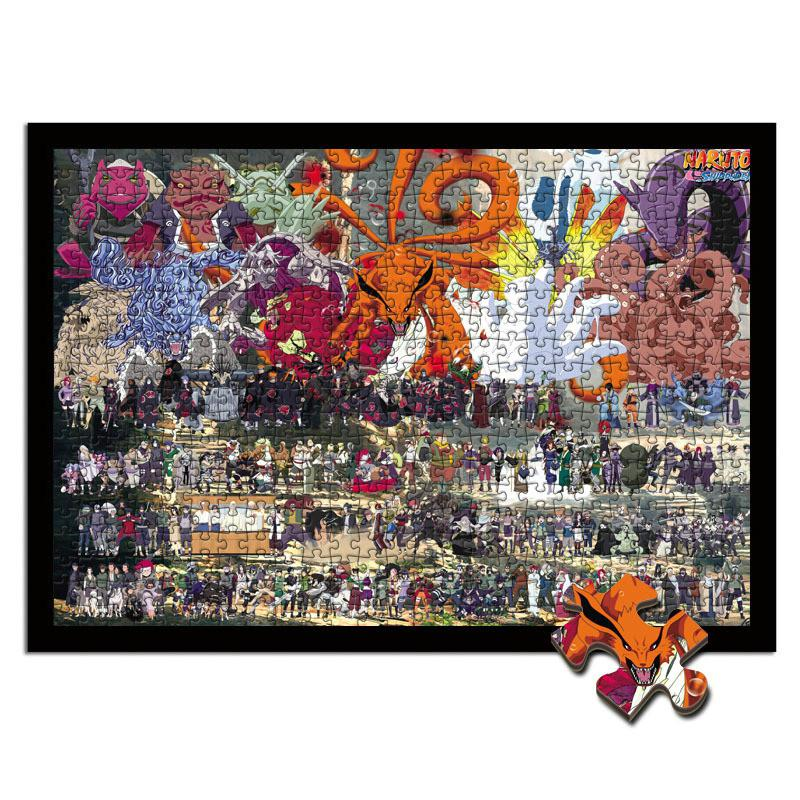 New Naruto Educational 1000 Piece Jigsaw Puzzles  Adults Kids Puzzle Toy