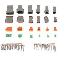 12 par 2/3/4/6/8/12 pino plug terminal conector (2 de cada) 1.6mm|Kit de cabos de ignição| |  -