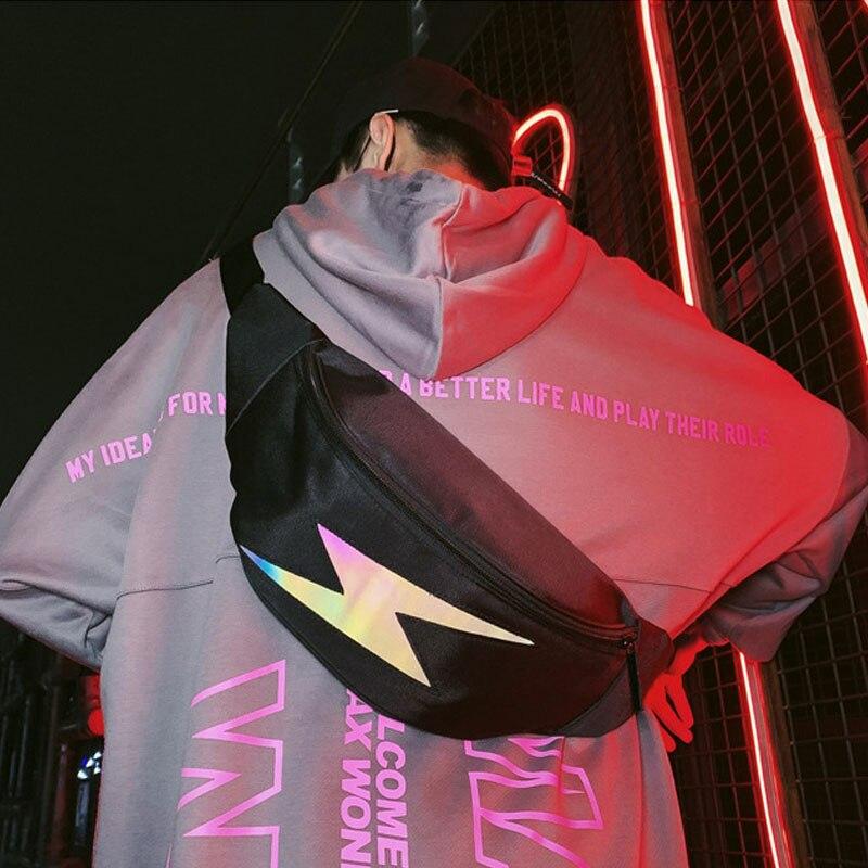 Reflective Waist Bags Casual Travel Men Belt Bag High Capacity Women's Chest Bag Hot Sell Fanny Pack Unisex Bum Bag Waist Packs