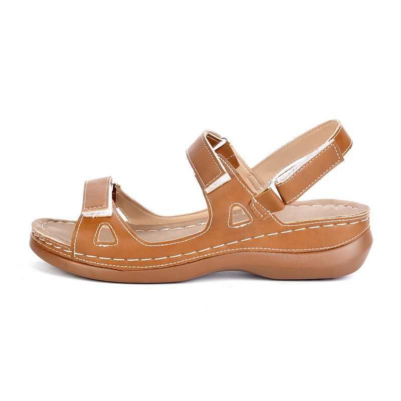 Dropshipping Nữ Đi Biển Dép 2020 Phụ Nữ Mới Mùa Xuân/Mùa Hè Mới Mềm Chống Trượt Chống Trơn Trượt Giày Sandal Xốp đế Bền Xăng Đan