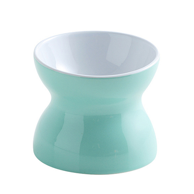 Round Drinking Colorful Ceramic Bowl
