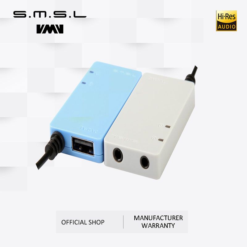 Clearance SMSL TV-DAC Digital Optical Coaxial To Analog Stereo RCA Audio Converter Adapter Coaxial Input Cable 3.5mm Input Cable
