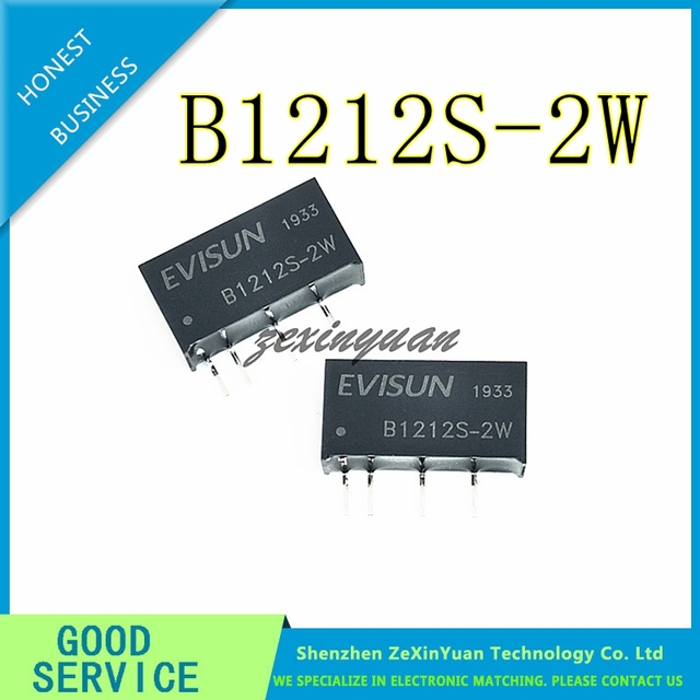 10 adet 100 adet B1212S 2W DIP 4 modülü otantik B1212S B1212S 2 DIP B1212
