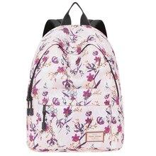 Woman School Backpack for Teenage Girls China Style Daypack Female Shoulder Bag Waterproof Laptop Bagpack Mochila