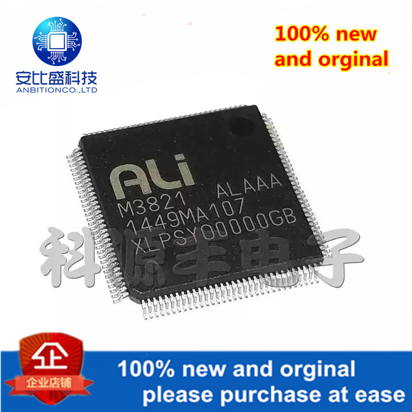 1pcs 100% New And Orginal M3821-ALAAA QFP In Stock