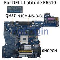 KoCoQin Laptop motherboard Für DELL Latitude E6510 QM57 Mainboard CN 0NCPCN 0NCPCN NAL22 LA 5573P N10M NS B B1-in Laptop-Hauptplatine aus Computer und Büro bei