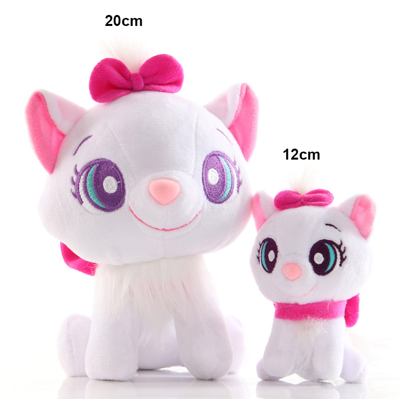 20cm Mini Marie Cat Plush Toys Baby Lovely Peluche Doll Toys Animals Stuffed Plush Toys for Children Birthday or Christmas Gifts