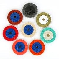 AIA Schleifmittel Disc Flache Faser Rad Nicht woven Rad Winkel Polieren Rad Nylon Faser Rad|Schleifscheiben|Werkzeug -