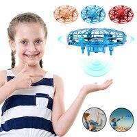 Mini Drone UFO giocattoli Fly Helicopter infrahand Sensing induzione RC Aircraft Upgrade Quadcopter giocattoli per bambini per regalo di natale