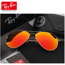 RayBan RB3025 Aviator Men Sunglasses Classic Polarized Women Outdoor Driving Pilot 3025