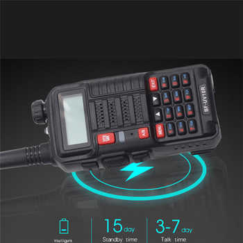 New Baofeng Radios UV-10R рация 2way Ham Radio station USB Fast Charging Dual Band Portable 10W Professional Walkie Talkie UV10R