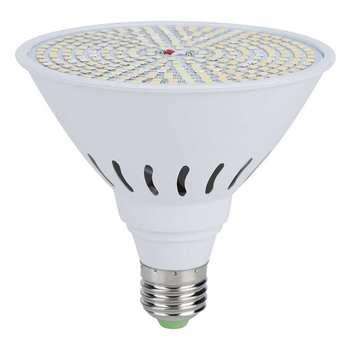 Akwarium oświetlenie led do uprawy żarówki oświetlenie led do uprawy żarówki E27 10W 290LED Chip rośliny światło rozproszone z 660nm czerwone światło do ogrodu tanie i dobre opinie Ashata CN (pochodzenie)