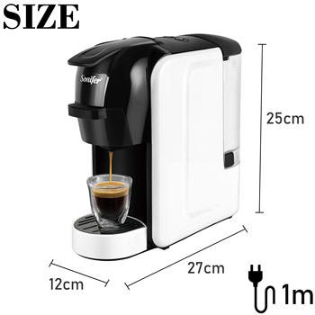 Italian Espresso Electric Coffee Capsule Machine 3 in 1 For Nestle Capsules Kitchen Appliances 19 bar Coffee Machine Sonifer 6