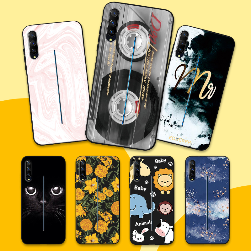 Protective Cover for <font><b>Vivo</b></font> Iqoo NEX A S Slim TPU Mobile Phone <font><b>Cases</b></font> For S1 Pro <font><b>V7Plus</b></font> V9 Y3 Y57 Fashion Flexible Gel Fundas Capa image