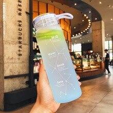 Water Bottle Leak Proof for Girl Biking Travel Portable BottlesKorean Style Heat Resistant Leakproof Glass