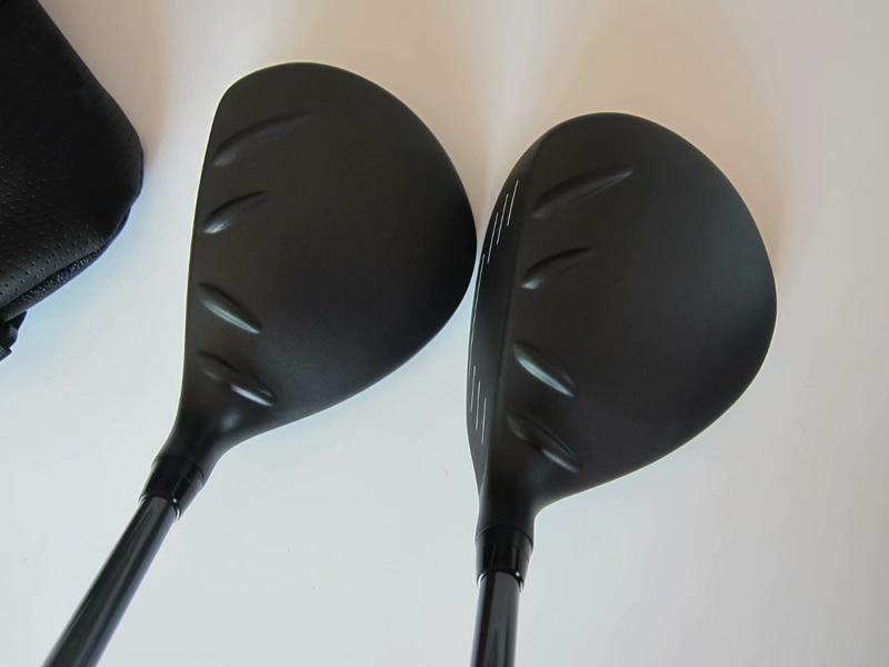 BIRDIEMaKe Golf Clubs 410 Fairway Woods 410 Golf Fairway Woods #3/#5 R/S/SR Flex Graphite Shaft With Head Cover 1