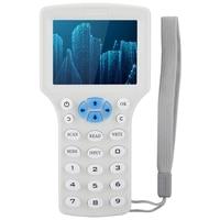 Handheld rfid nfc copiadora leitor multi freqüência identificação rfid cartão de identificação controle acesso máquina de cópia leitores kit|  -
