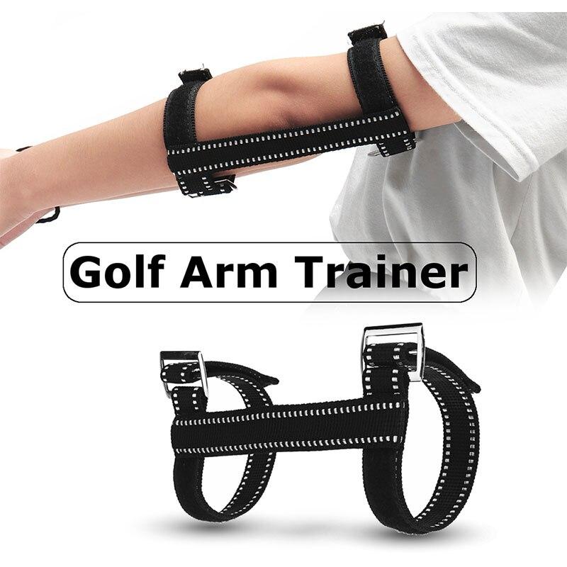Portable Arm Guard Golf Correction Belt Black Sport Outdoor Swing Practice Stick Trainging Aids Corrective Alert Practical