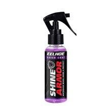100ml brilho armadura carro nano reparação spray de polimento revestimento agente aferidor para remover arranhões oxidação