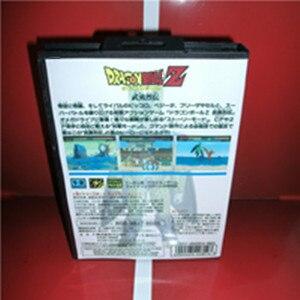 Image 2 - ドラゴンゲームボールz buyuu retsuden日本カバーボックスとマニュアルセガメガジェネシスビデオゲームコンソール16ビットmdカード