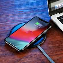 Smart Ultra thin wireless charger for apple mobile phone wireless headset charger wireless quick charge smart wireless charge wireless