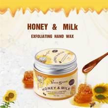 Masque blanchissant à base de miel pour les mains, 50g, soin Essence pour la peau, exfoliants, élimine les callosités, soins pour les mains, TSLM1