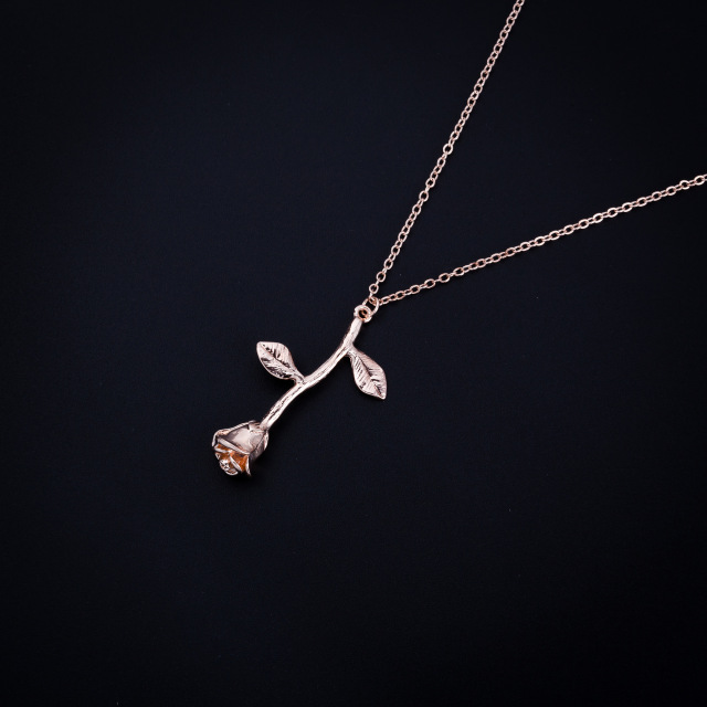 2020 Rose Gold Color Necklace 3
