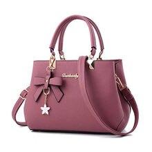 Korean 2021 autumn winter bow women's bag portable shoulder bag messenger bags large women's bags cheap luxury brand handbag
