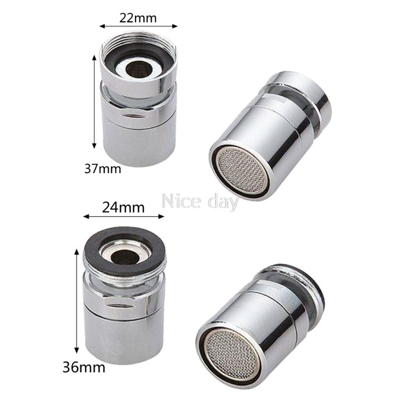 Brass Water Saving Tap Faucet Aerator Sprayer Attachment  With 360-Degree Swivel  F16 20 Dropship