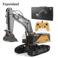 2020 nouvel article 1:14 huina 592 RC alliage pelle 22CH gros Rc camions Simulation pelle télécommande véhicule jouets pour garçons