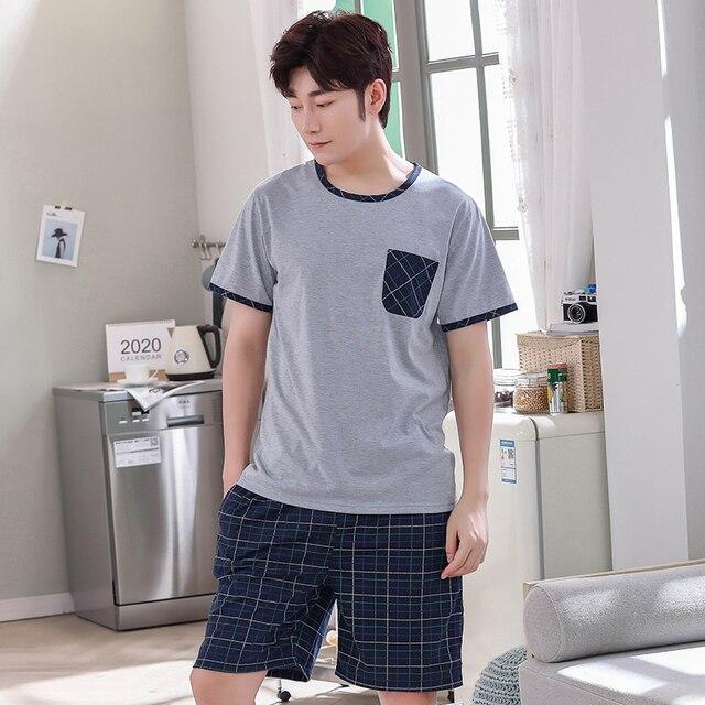 Men's Short Sleeve Pajamas 2