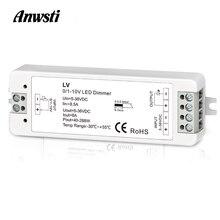 Mini 0/1-10V Cv Led Dimmen Controller 1 Kanaal Dc 5V 12V 24V 36V pwm Conatant Uitgangsspanning 8A 288W 1 Kanaal 0-10V Dimmer Lv