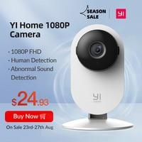 YI-cámara de seguridad FHD para el hogar, Monitor de bebé alimentado por Ia, 1080p, detección humana, vigilancia, visión nocturna, nube, versión internacional