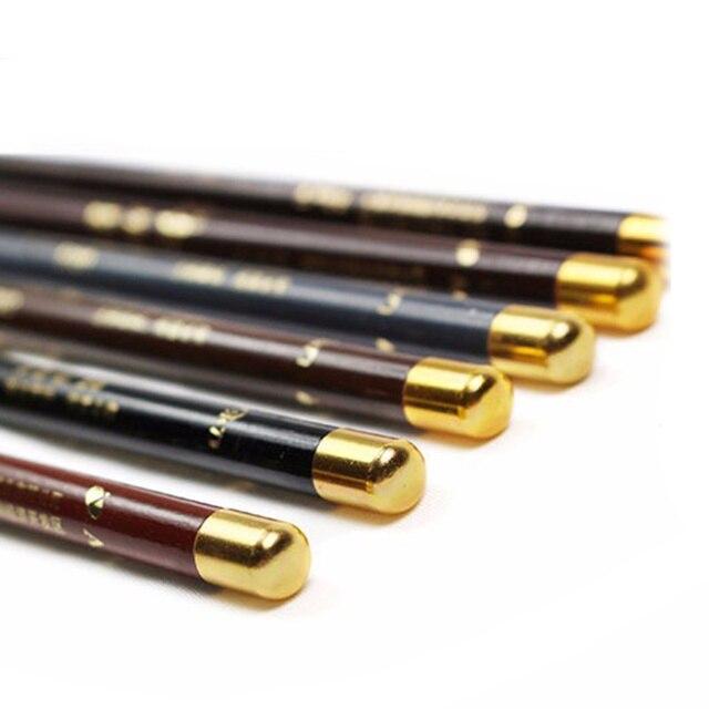 6 Colors Eyebrow Pencil Long-Lasting Eye Brow Tattoo Tint Liner Pen Waterproof Eyebrow Enhancers Professional Makeup Tool TSLM1 5